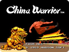 China Warrior Main Screen