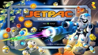 Title Screen for Jetpac