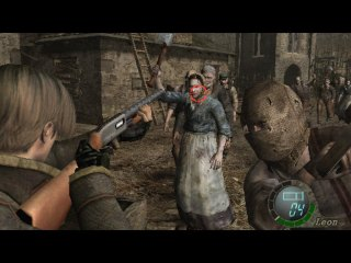 Aiming in RE4 Wii Edition