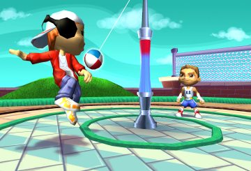 Wii Playground Teatherball