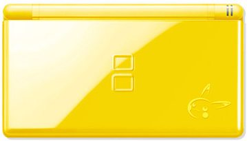 Pikachu DS Lite Closed