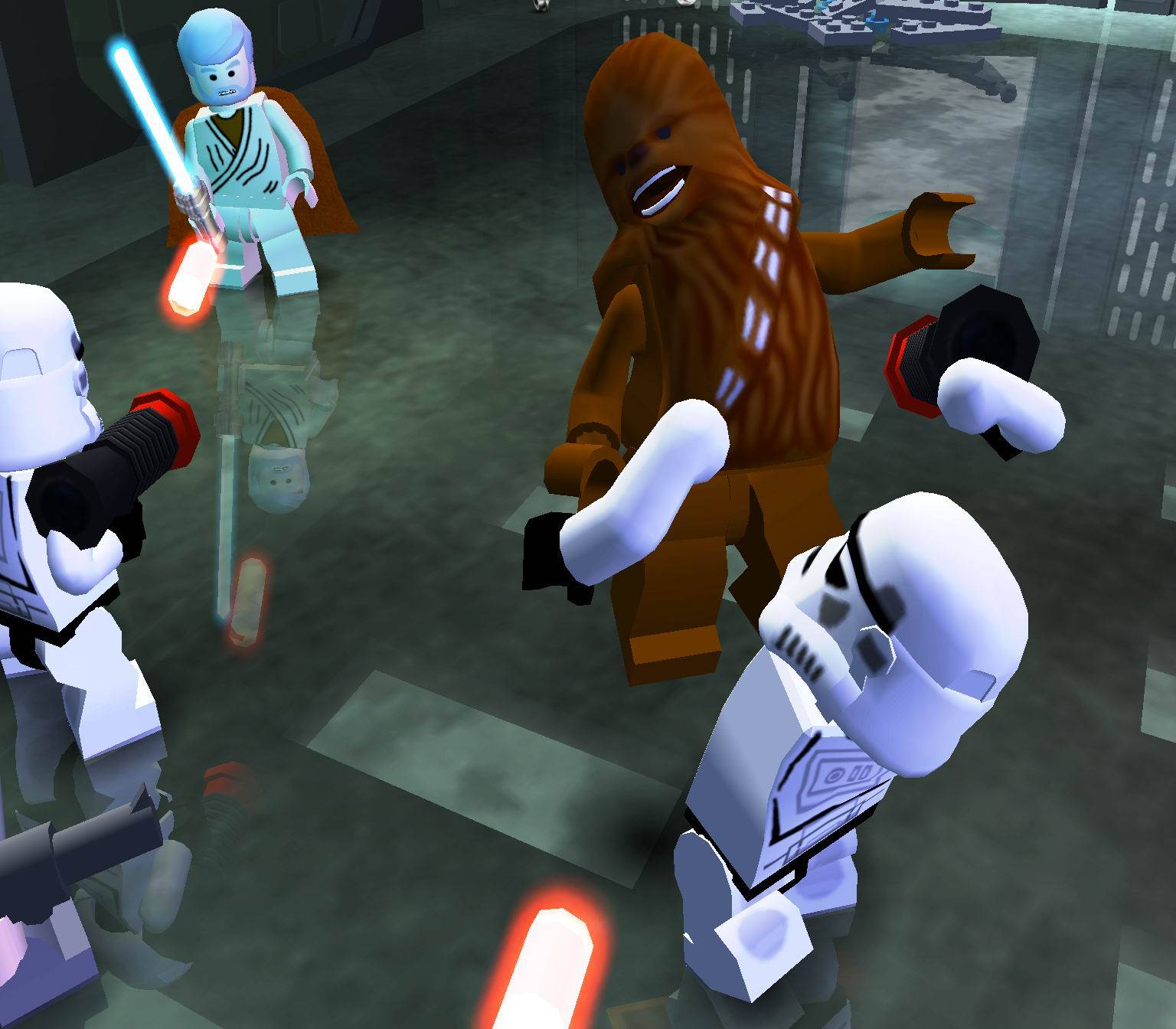 Lego Star Wars Movies Games