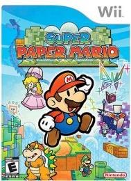 Super Paper Mario Boxart
