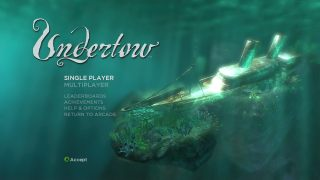 Undertow main menu